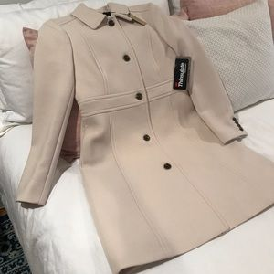 J. Crew Double-cloth Lady Day Coat with Thinsulate